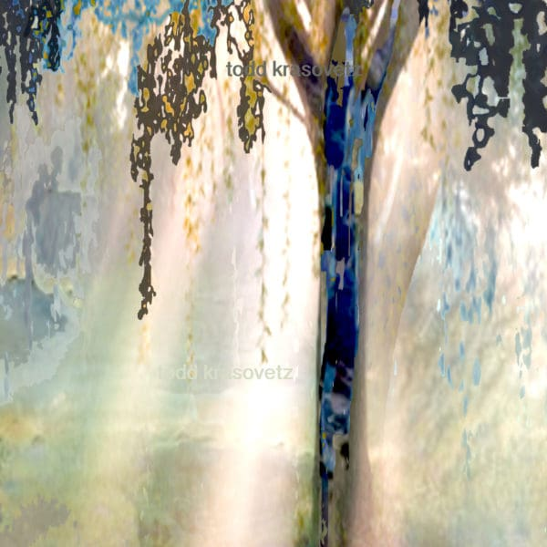 Abstract Contemporary Art titled Humanity and Natures Gift by Todd Krasovetz